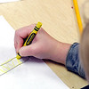 John P. Cleary | The Herald Bulletin<br /> Students from Samantha Smith's Summitville Elementary School kindergarten class learn the proper way to hold a pencil or crayon.