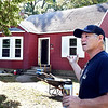 John P. Cleary | The Herald Bulletin<br /> Jim Grueser, owner of Big Head Industry, tells about what they have done to this house on West 11th Street they are remodeling that has been vacant for 10 years on West 11th Street in Anderson.