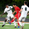 John P. Cleary | The Herald Bulletin<br /> Pendleton Hts. vs Anderson HS in boys soccer.