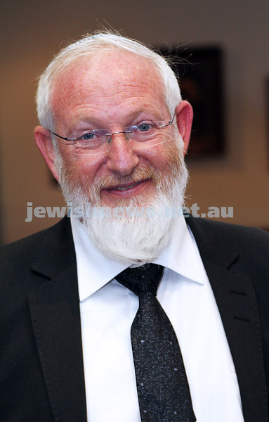 19-2-12. Rabbi David Samson in Melbourne.  Educator from Israel. Photo: Peter Haskin
