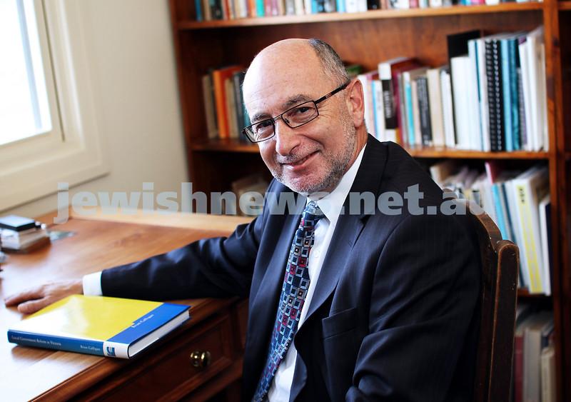 2012 Australian Day Homours. Yehudi Blacher, PSM. Service to the public service. Photo: Peter Haskin