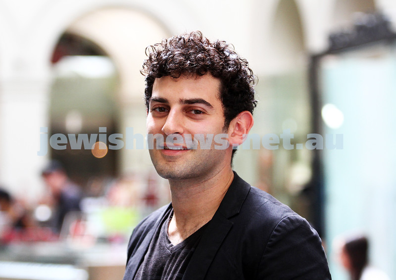 24-2-12. Eyal Halamish, founder of YourSay. Photo: Peter Haskin