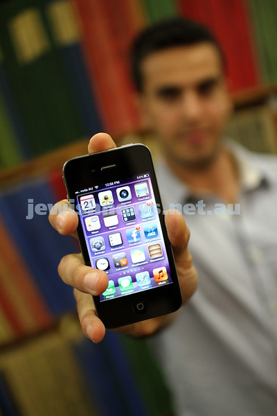 iphone apps. photo: peter haskin