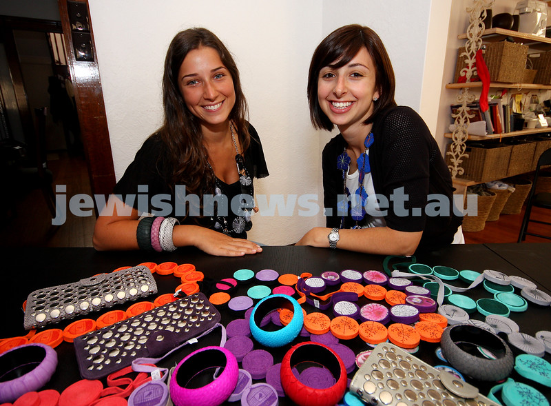 polly & j. Jasmin Grajzman (left), Rachel Gotlieb. photo: peter haskin