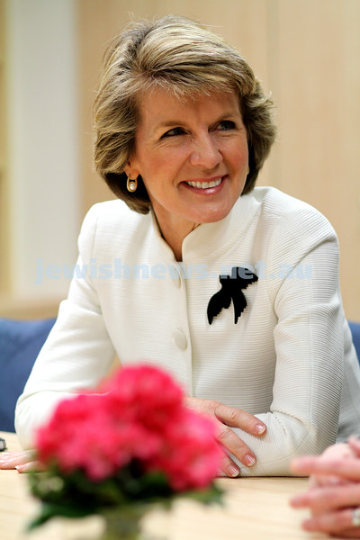 20/7/10. Deputy Oppostion leader, Julie Bishop. Interview by Naomi Levin at offices of memeber for Higgins, Kelly O'Dwyer.