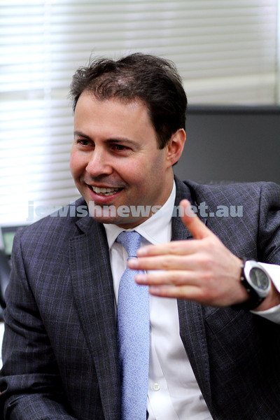 23-7-10. Josh Frydenberg. Liberal candidate for Kooyong. 2010 Federal election.