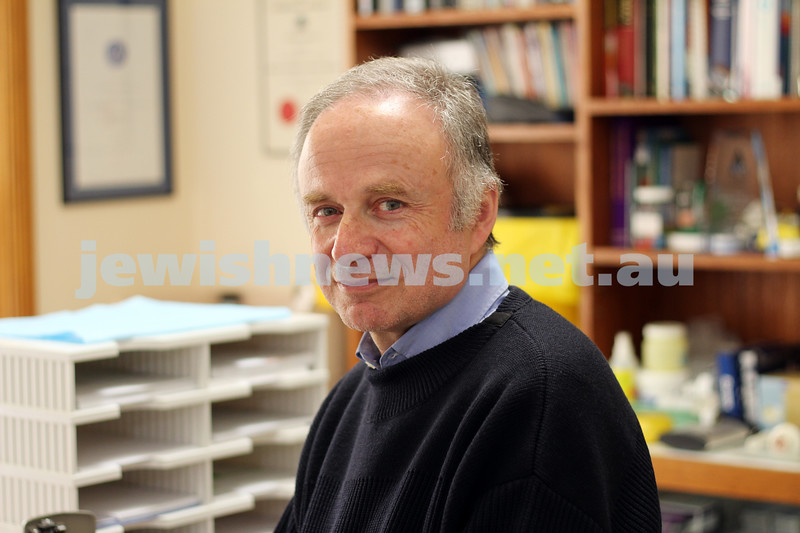 Ron Elisha. General doctor and play write. Photo: Peter Haskin