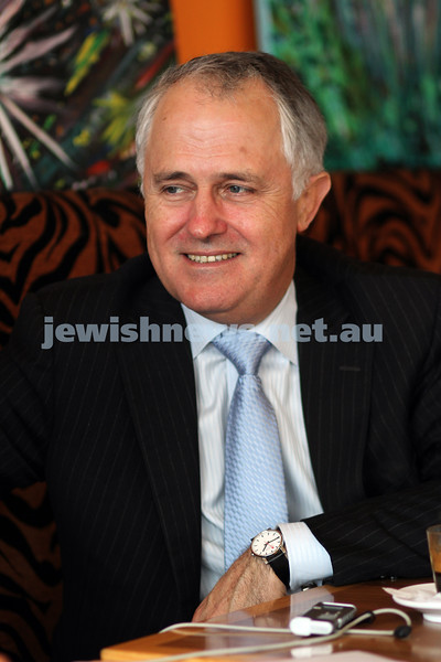 Fedral Election 2010. Liberal candidate for Wentworth, Malcolm Turnbull. Photo: Peter Haskin