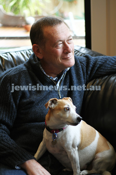 Alan Rosendorf and Millie. Photo: Peter Haskin