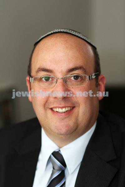 8-11-11. Adam Segal, new principal of the Yesodah ha Torah school. photo: peter haskin