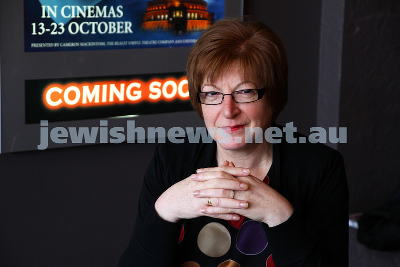 27-9-11. Aviva Kipen. Director of the 2011 Jewish Film Festival. Photo: Peter Haskin