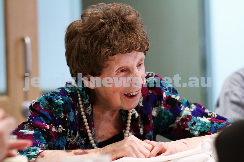 21-7-11. 105 year old Violet Movitz talking about her memories of the world's major events during her life time. Photo: Peter Haskin