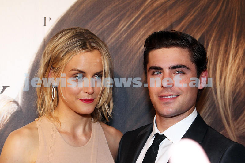 "11-4-12. The red carpet at the premier of ""The Lucky One"" with Zac Efron and Taylor Schilling. Village Cinemas, Crown Entertainent Complex. Photo: Peter Haskin"