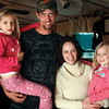 Seth Nolot and Ashley Nolot with daughters Havyn Kletter, left, and Layland Kletter.  Staff photo by C.E. Branham