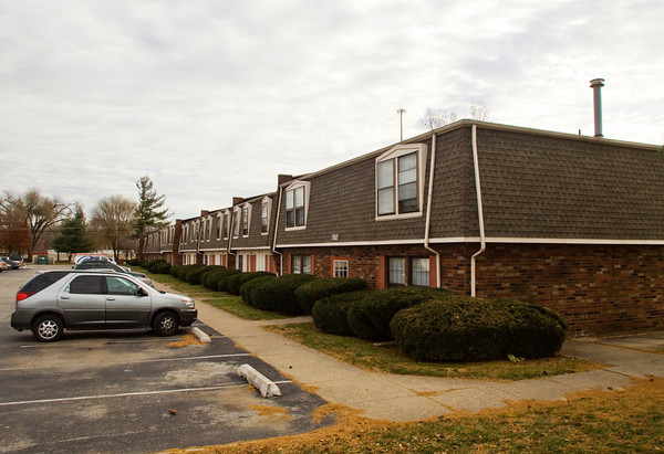 The Cambridge Square Apartments unit where Tara Willenborg lived sits on its location in Clarksville. Willenborg was found dead inside her apartment after allegedly being raped and strangled by Richard Carly Hooten Jr. in early March of this year. Staff photo by Christopher Fryer