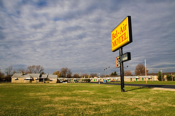 The Bel-Air Motel sits on its location along Kopp Lane in Clarksville. Richard Carly Hooten Jr. was arrested by Clarksville police at the motel in 2011 and charged with dealing in narcotics. Staff photo by Christopher Fryer