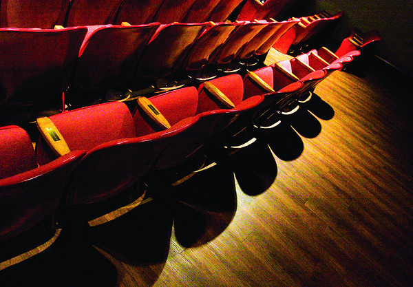 Theater seats sit in the Clarksville Little Theater. Staff photo by Christopher Fryer
