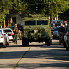 A SWAT vehicle leaves the scene of a domestic dispute that was treated as a possible hostage situation by the New Albany Police Department and Floyd County Metro SWAT along the 1100 block of Greenaway Place in New Albany on Friday morning. No one was injured during the incident. Staff photo by Christopher Fryer