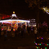 Visitors filled Warder Park Saturday night for Light Up Jeffersonville. Staff photo by C.E. Branham
