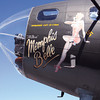 """The WWII era plane, used in the movie """"Memphis Belle,"""" will be at the Clark County Airport Saturday and Sunday for flights and tours. Staff photo by C.E. Branham"""