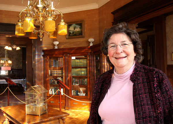 Yvonne Knight has retired from the Howard Steamboat Museum. Knight served as the museum's director and curator for more than 20 years. Staff photo by C.E. Branham