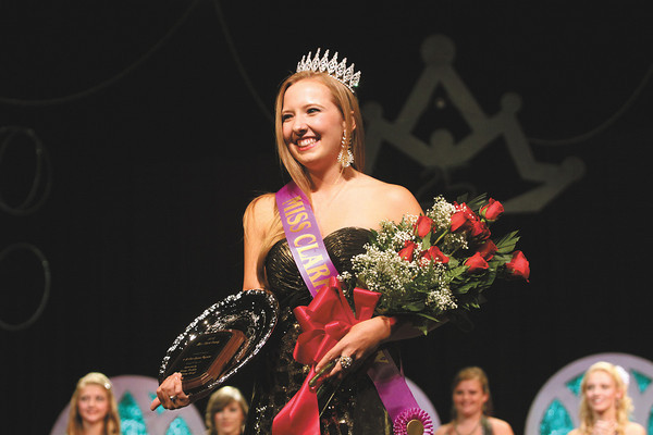 Candace Popp was crowned Miss Clark County Tuesday evening at Providence High School. This year marked the 25th year for the Miss Clark County Fair Queen Pageant. Staff photo by C.E. Branham