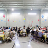 Attendants look on as Corps Officer Stephen Kiger speaks during the Salvation Army Volunteer Luncheon in New Albany on Wednesday afternoon. Staff photo by Christopher Fryer