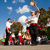 The Louisville Ethnic Dancers perform during the Jeffersonville Italian Festival on West Court Avenue, between Spring and Pearl Streets, on Saturday afternoon. Staff photo by Christopher Fryer