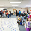 Participants attend the Gobbler Games at the Clarksville Community Center on Saturday morning. About 50 children between the ages of five and 12 participated in other games and crafts at the annual event put on by the Clarksville Parks Department and the Optimist Club of Clarksville. Staff photo by Christopher Fryer