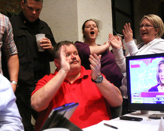 Republican Terry Conway defeated Democrat John Hall in the Clark County Coroner race. Staff photo by C.E. Branham