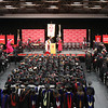 The 45th commencement ceremony at Indiana University Southeast on Monday afternoon. Staff photo by C.E. Branham