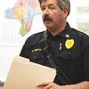 Incident commander Michial Compton said that Henryville preschool and kindergarten students resumed classes Monday at Silver Creek Primary School. Staff photo by C.E. Branham