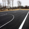Two full size basketball courts are installed at Vissing Park in Jeffersonville. Staff photo by C.E. Branham