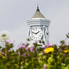 The clock tower on top of the Second Baptist Church is pictured in downtown New Albany on Monday afternoon. Staff photo by Christopher Fryer