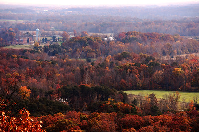A view of Clark County from a lookout point at the Clark County State Park in Henryville.  Staff photo by Tyler Stewart
