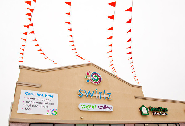 Swirlz Yogurt and Coffee sits on its location at 2784 Meijer Drive in Jeffersonville. Staff photo by Christopher Fryer