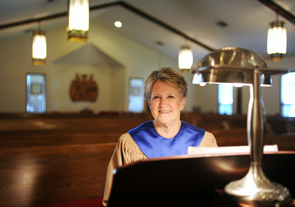 Barbara Brewster has been the organ player at Faith Lutheran Church in Jeffersonville for the past 50 years. Brewster began playing organ with the church in August of 1964 at the age of 17.  Staff photo by Tyler Stewart