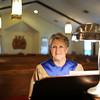 Barbara Brewster has been the organ player at Faith Lutheran Church in Jeffersonville for the past 50 years. Brewster began playing organ with the church in August of 1964 at the age of 17. <br /> Staff photo by Tyler Stewart