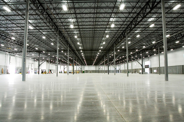 The interior of building one at America Place's River Ridge campus is pictured in Jeffersonville along Trey Street on Monday morning. An automotive parts supplier is scheduled to be the first tenant on the property. Staff photo by Christopher Fryer