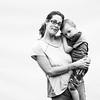 Rachel Nevins, 33, and her son Kadan Nevins, 4
