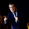 Presidential candidate Ted Cruz speaks during a rally at Huber's Orchard and Winery in Starlight on Monday ahead of Indiana's primary election next Tuesday. Staff photo by Christopher Fryer