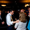 Presidential candidate Ted Cruz speaks with supporters following a speech at Huber's Orchard and Winery in Starlight on Monday ahead of Indiana's primary election next Tuesday. Staff photo by Christopher Fryer