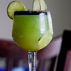A Cucumber Margarita is pictured at Habana Blues Tapas Restaurant in downtown New Albany. Staff photo by Christopher FryerIngredients:cucumber garnishcumin saltJose Cuervo TequilaSweet and Sour MixTriple Sec Liqueur