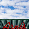 The sign for Arni's Restaurant is pictured on the facade of the Floyds Knobs pizzeria located at the corner of Paoli Pike and Scottsville Road. Staff photo by Christopher Fryer