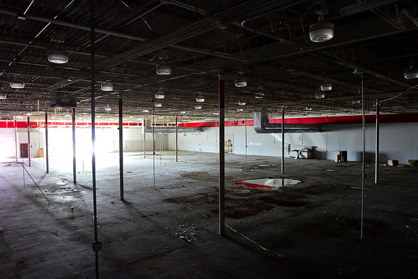 The interior of the former Peddler's Mall located at 900 Eastern Blvd. is pictured in Clarksville on Wednesday afternoon. Staff photo by Christopher Fryer