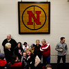 New Albany fans gather in the Doghouse on Friday morning prior to a send-off ceremony ahead of the Bulldogs' game against McCutcheon for the Class 4A state title, which is scheduled for Saturday night. Staff photo by Christopher Fryer