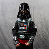 Zack Fuhrman, 5, Floyds Knobs, poses for a portrait in his Darth Vader costume during Star Wars Day at the New Albany-Floyd County Public Library in downtown New Albany on Saturday afternoon. Staff photo by Christopher Fryer