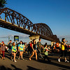Attendees move along Riverside Drive during Thunder Over Louisville festivities Saturday. Staff photo by Christopher Fryer