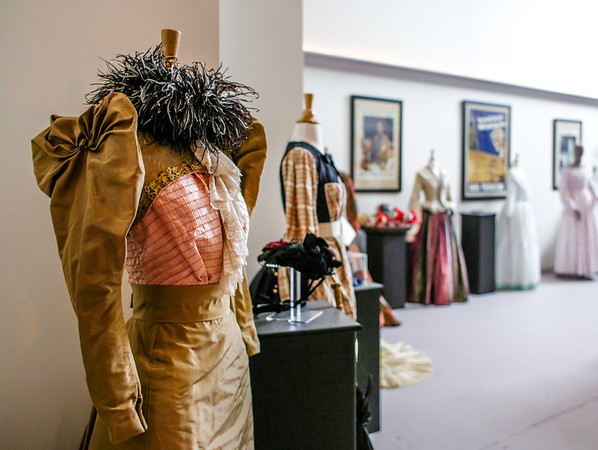 The Clark County Museum on Michigan Avenue in Jeffersonville opens this Friday, displaying two centuries of dresses from Ruby Grace Miller. Staff Photo By Josh Hicks