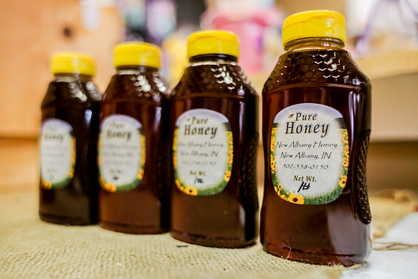 Pearls on Pearl in New Albany carries New Albany Honey. Staff Photo By Josh Hicks